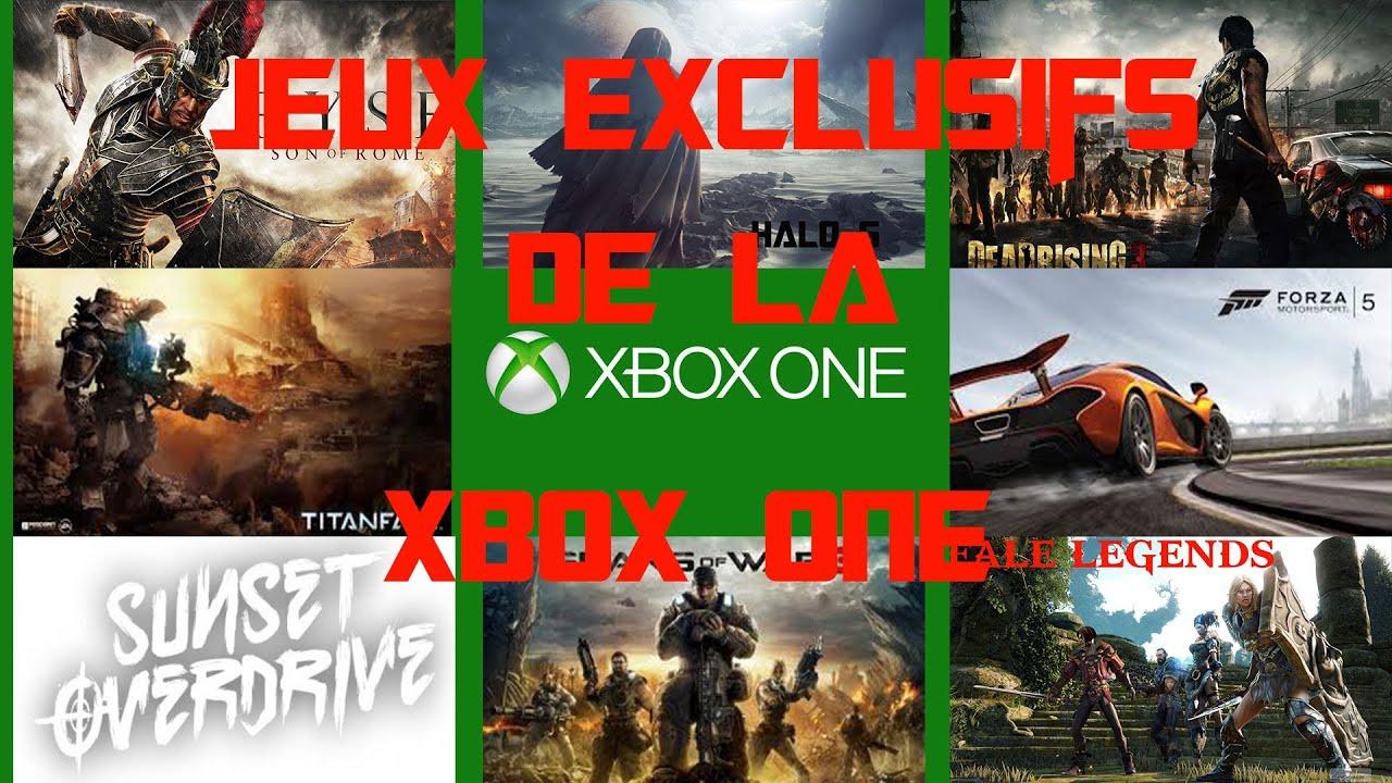 tous les jeux exclusifs de la xbox one youtube