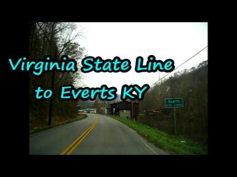 Virginia State Line to Evarts Ky
