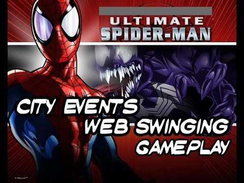 Ultimate Spider-Man - City Events - Special Web Swinging Gameplay