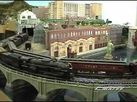 HO and O Scale New York to Chicago Model Railroad Empire