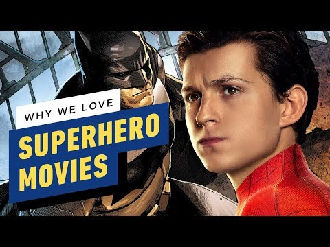 Why We Love Superhero Movies