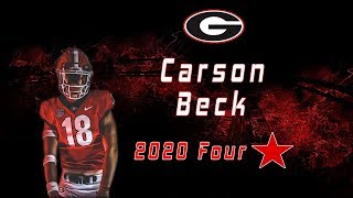 Carson Beck | 4 Star QB Class Of 2020 | UGA Commit