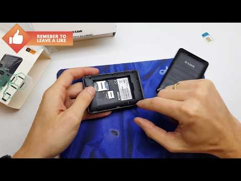 Router D-LINK DWR932 LTE disassembly - repair | 4K
