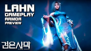 Black Desert (검은사막) - Lahn - Armor Preview - Gameplay - Profile - PC - F2P - KR
