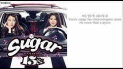 15& - Sugar / Lyrics video (HANGUL+ROMANIZATION+ENGLISH + DOWNLOAD LINK)
