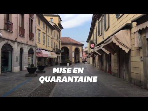Désolation et confinement dans ces villes d'Italie à cause du coronavirus