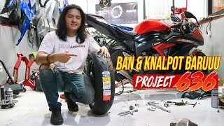 NEW TYRES AND EXHAUST ZX636 - Project 636 | Eps. 2