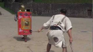 Meet a Real Modern Gladiator