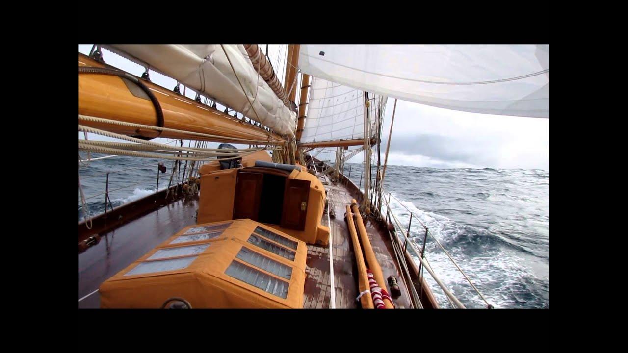 Classic Yacht Sailing William Fife Schooner ADVENTURESS