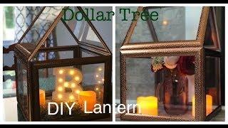 HOW TO Dollar Tree DIY Lantern