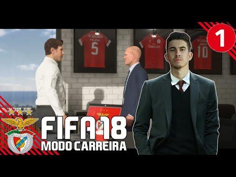 'DE VOLTA AO TRABALHO!' | FIFA 18 Modo Carreira (SL Benfica) #01