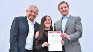 En Plaza de las Tres Culturas presidente AMLO garantiza con becas acceso a la educación