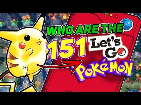 What Pokemon Can You Catch In Lets Go Eevee And Lets Go Pikachu? Who Are The Original Pokemon?