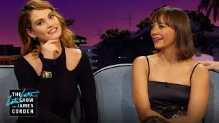 Mom Texts w/ Lily James & Rashida Jones