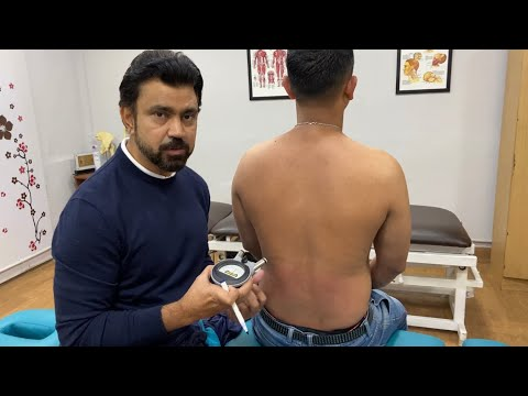 Chronic #Back pain # chiropractic treatment in Delhi by Dr. Asif Naqvi