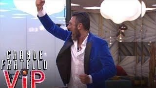 Grande Fratello VIP - Sossio è il primo finalista!