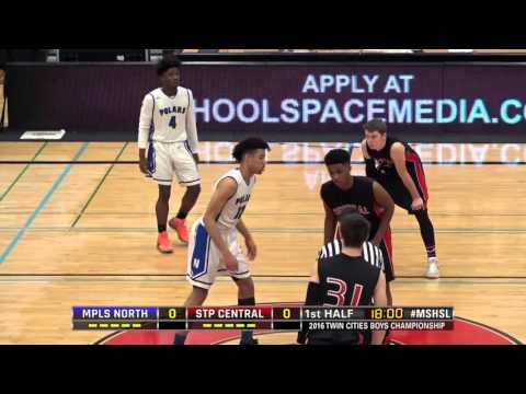 2016 Twin Cities boys championship: Minneapolis North vs. St. Paul Central