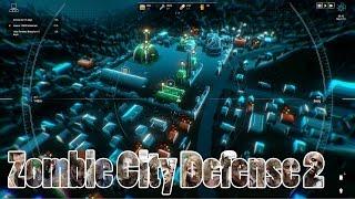 Обзор Zombie City Defense 2 | Зомби-минимализм | Первый взгляд