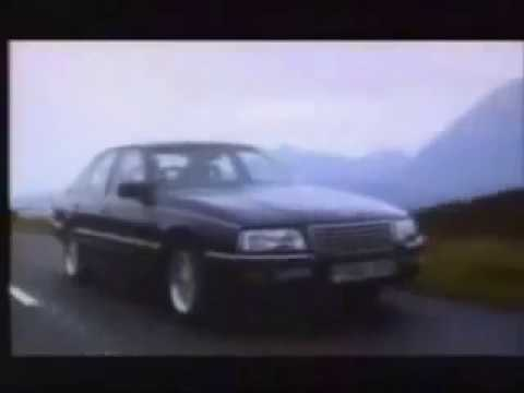VAUXHALL SENATOR LAUNCH COMMERCIAL  10 87