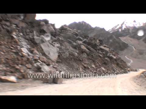 Driving from Bharatpur to Sarchu in Himachal-Jammu and Kashmir border - Part 2