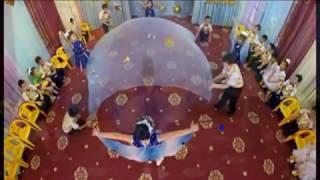 Звездный танец (с полотном). Видео Sirin.