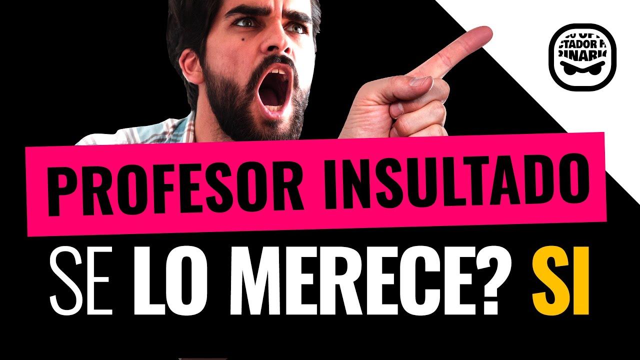 Un profesor Argentino es insultado por adoctrinar a sus alumnos. ¿Quién tiene razón?