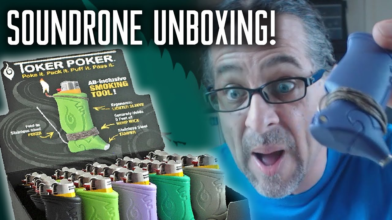 SOUNDRONE UNBOXING EP1 - TOKER POKER - YouTube