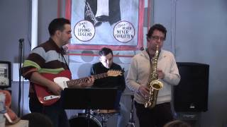 The Chicken (Pee Wee Ellis) - Jazz Jam (Cover) - Pat Cunningham Quartet