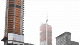 Raw: Camera Shows Moment of NYC Crane Collapse