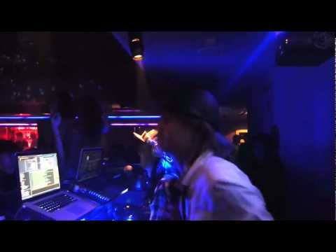 DJ Marc Panther from globe @GENIUS TOKYO
