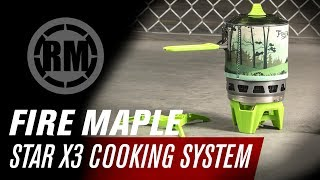 Fire Maple Fixed Star X3 Cooking System