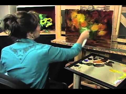 Preview Of Elizabeth Robbins Paints Sunflowers Youtube