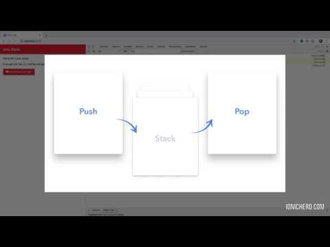 Vídeo no Youtube: Ionic 3 Hero Essencial | Módulo 3 Navegação no Ionic - Intro #ionic3