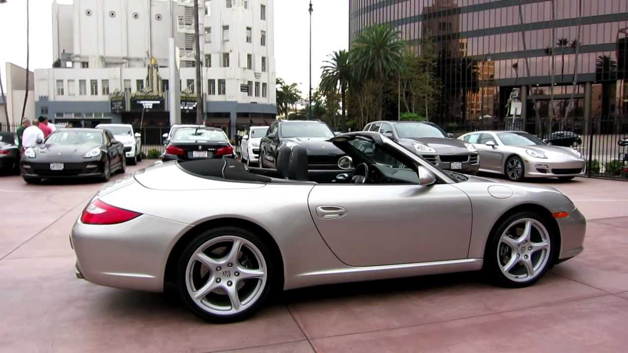 Carrera Cabriolet Pdk  Liter For Sale In Beverly Hills California