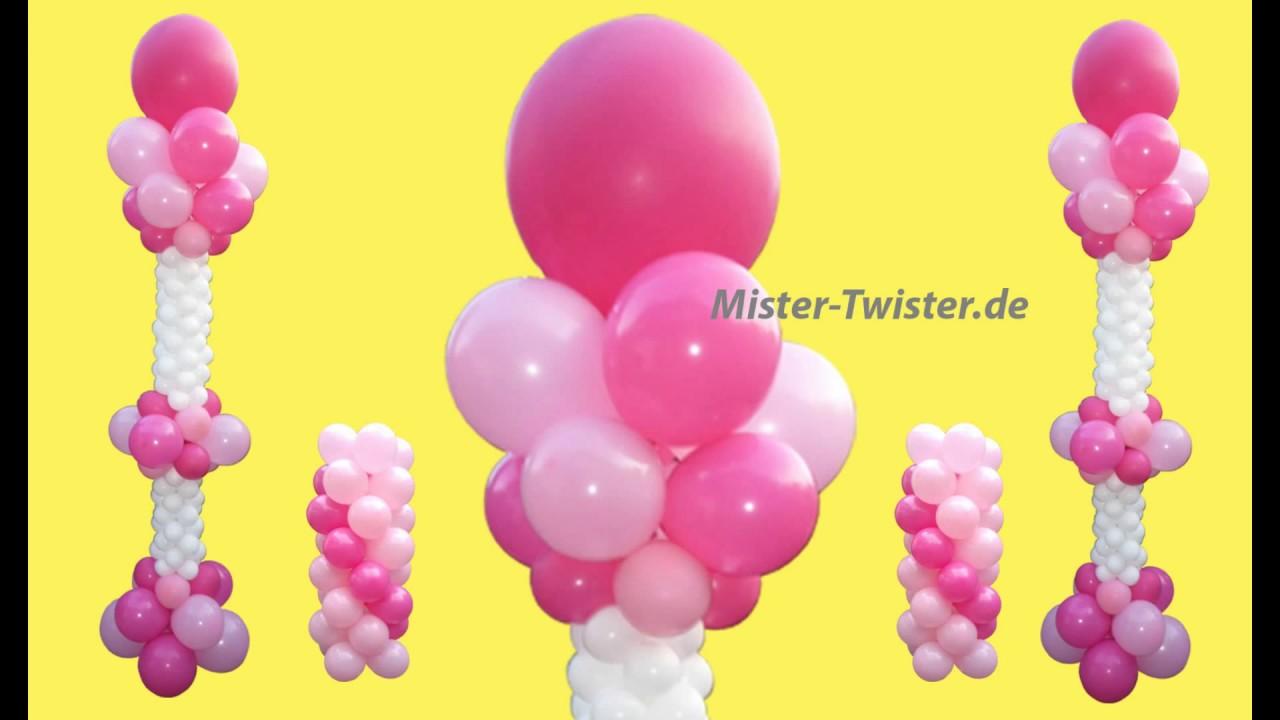 Ballondekoration, balloon Wedding decoration, Ballonsäule, balloon ...