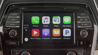 2018 Nissan Maxima - Apple CarPlay™