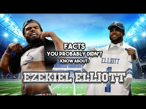 19 AWESOME Facts You Probably Didn't Know About Ezekiel Elliott