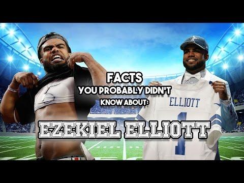 Ezekiel Elliott: 19 Facts You Probably Didn