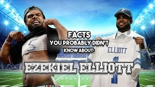 Ezekiel Elliott: 19 Facts You Probably Didn't Know