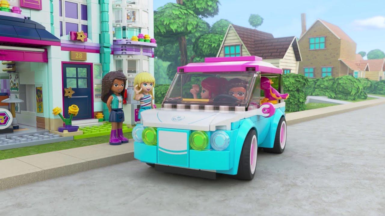 41449 Andrea之家 - 心湖城Friends少女組 - LEGO Friends
