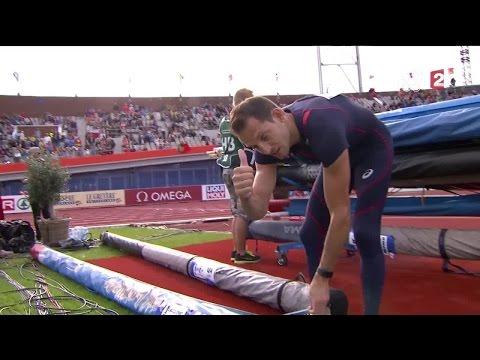 Renaud Lavillenie passa sans problème 5.60m