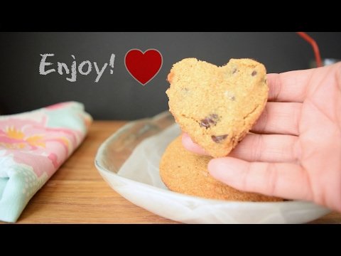 Gluten free Chocolate Chips Cookies (paleo, grain free, gluten free, dairy free)