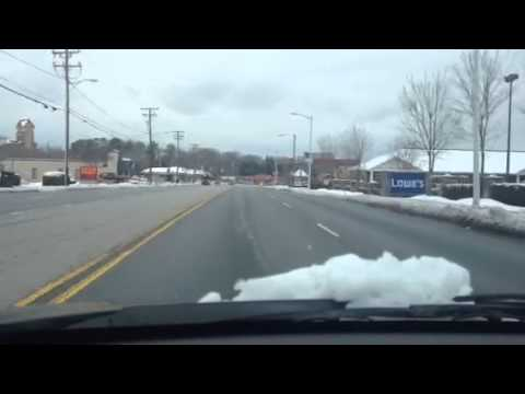 Driving in Hickory, NC