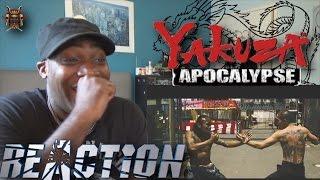 YAKUZA APOCALYPSE Red Band Trailer (極道大戦争, Gokudō Daisensō) - REACTION!