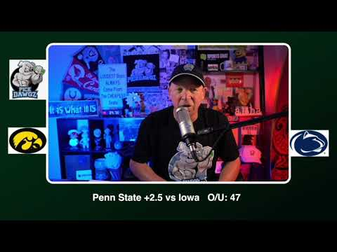 Penn State vs Iowa 11/21/20 Free College Football Picks and Predictions CFB Tips Pick Dawgz