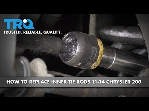 How to Replace Inner Tie Rods 11-14 Chrysler 200