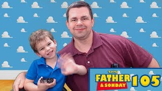 Father and Sonday! | Opening Pokemon Cards with Lukas #105