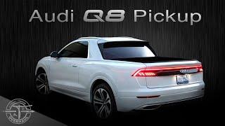 Audi Q8 Pickup Ute 2020 Mr T's OVERHAUL ... wie könnte Audis Flaggschiff als Pickup aussehen ???