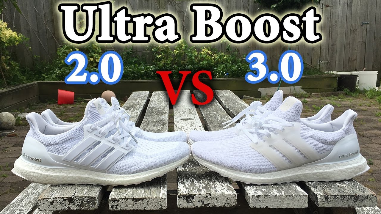 online retailer newest collection online here Ultra Boost 2.0 Vs 3.0 | What's the Difference? Adidas Comparison w/ On Feet