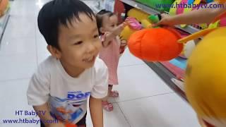 Bé Học Màu Sắc Cùng Đồ Chơi Bằng Bông | Learn Color With Toys | Nursery Rhymes 4 Kids | HT BabyTV ✔︎